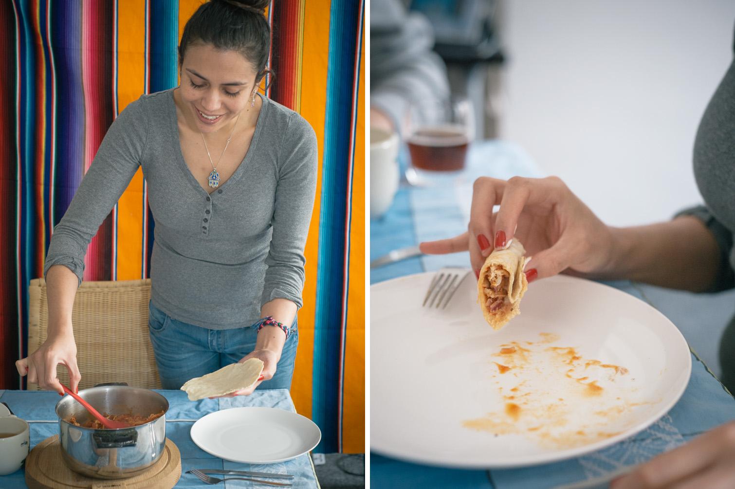 """""""Ik heb in Nederland pas tortilla's leren maken"""""""