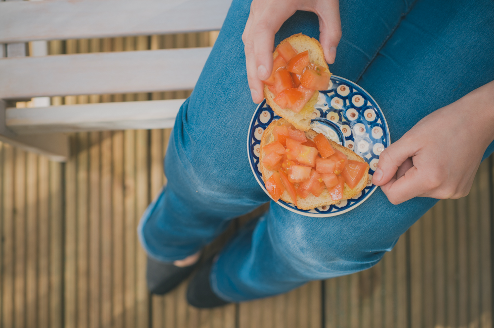 Catalaans tomatenontbijt: pan a la catalana