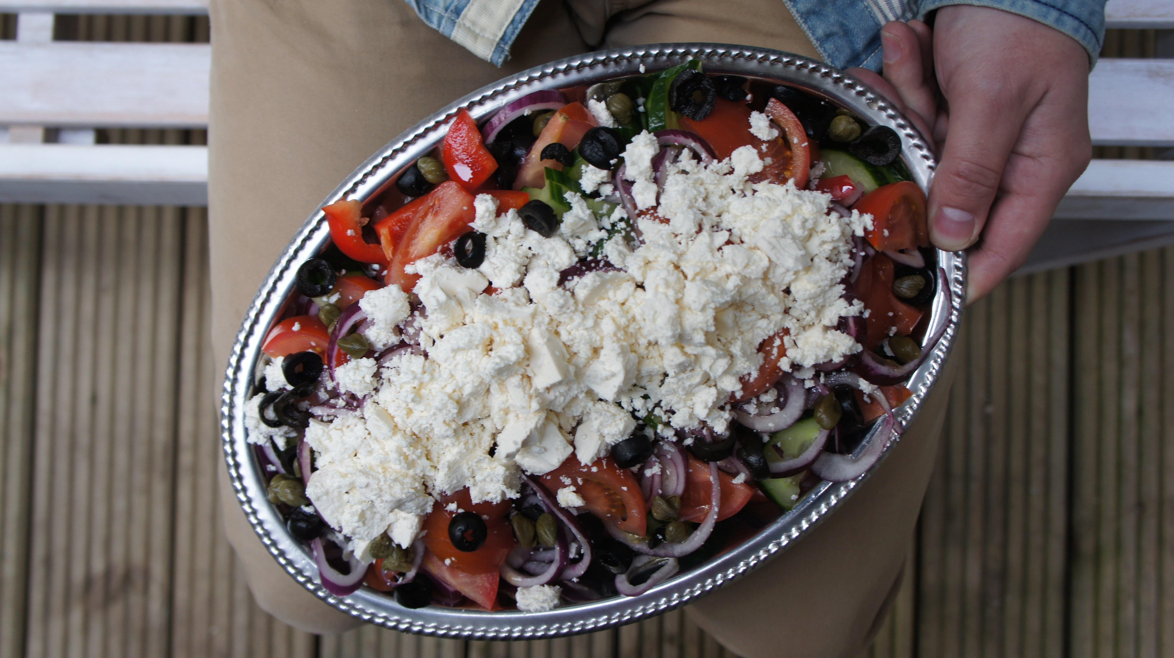 Griekse salade: de bekendste salade ter wereld