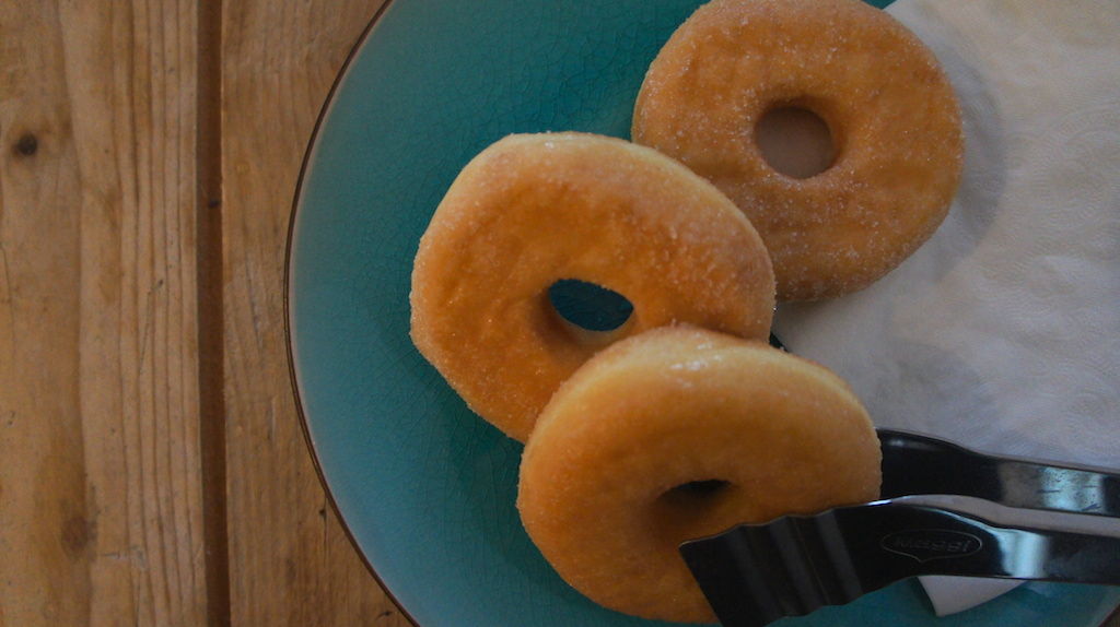 De geschiedenis van de donut