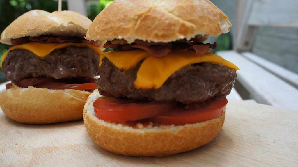 De geschiedenis van hamburgers!
