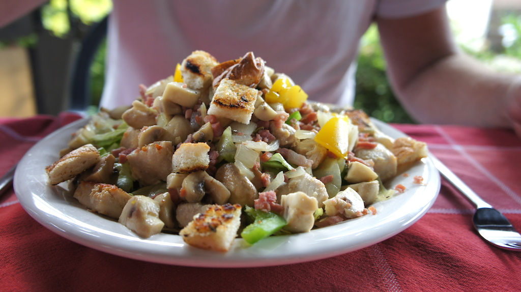 Bij moeders eten: zomerse salade